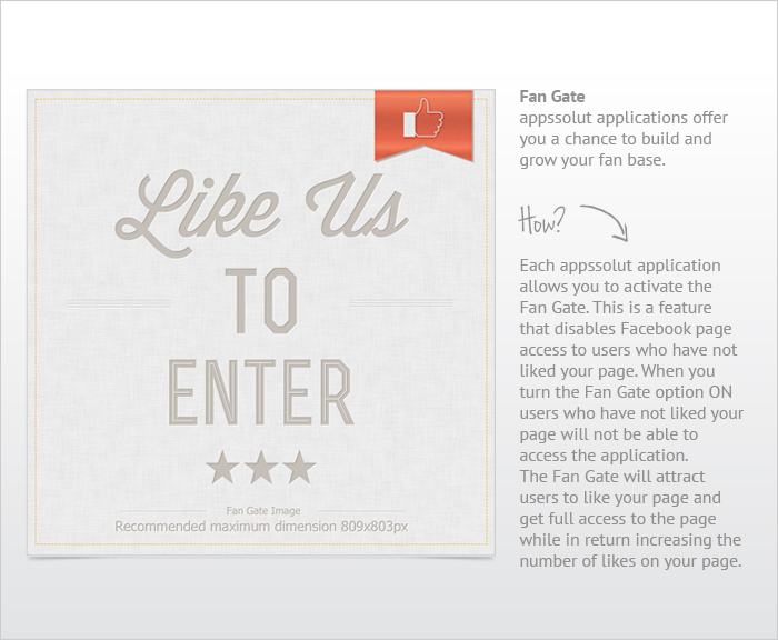 Vote for Product - Photo Facebook application